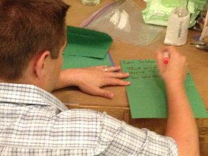 military-letter-writing