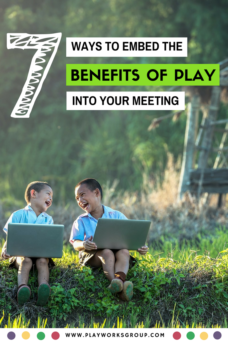 Play Your Card Right On Pinterest: 7 Ways To Embed The Benefits Of Play Into Your Meeting Or