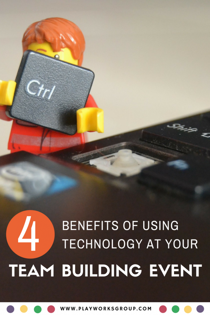 4 Benefits of Using Technology at Your Next Team Building Event