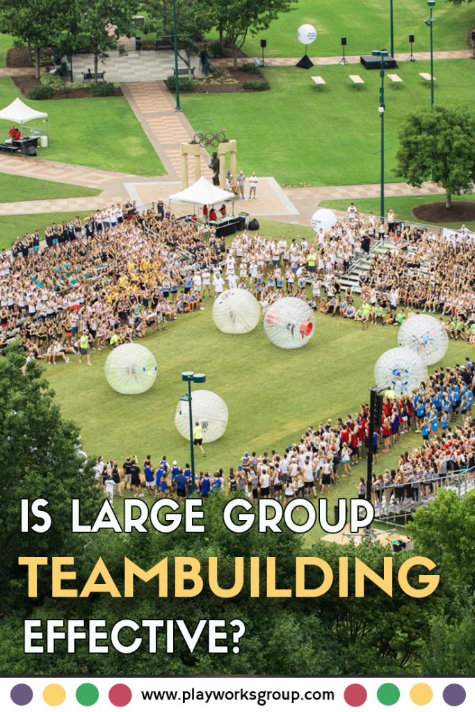 Is large group team building effective?